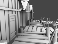 Haunted Docks - Modeled By Marc Zirin