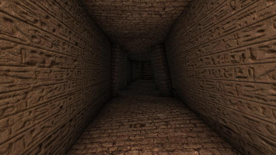 Egyptian Tomb 3D Environment By Marc Zirin
