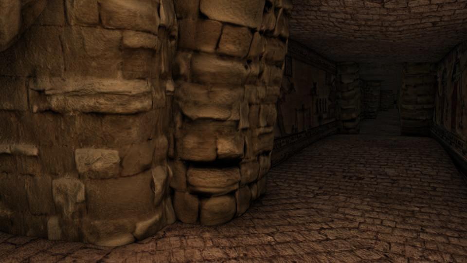 Egyptian Tomb 3D Environment By Marc Zirin