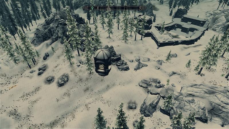 Fortress In Blackreach Skyrim Player Home Mods Marc Zirin