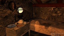 Gehn\'s 233rd Age - Desk and Bed