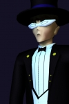 Tuxedo Mask - Low Poly Game Character