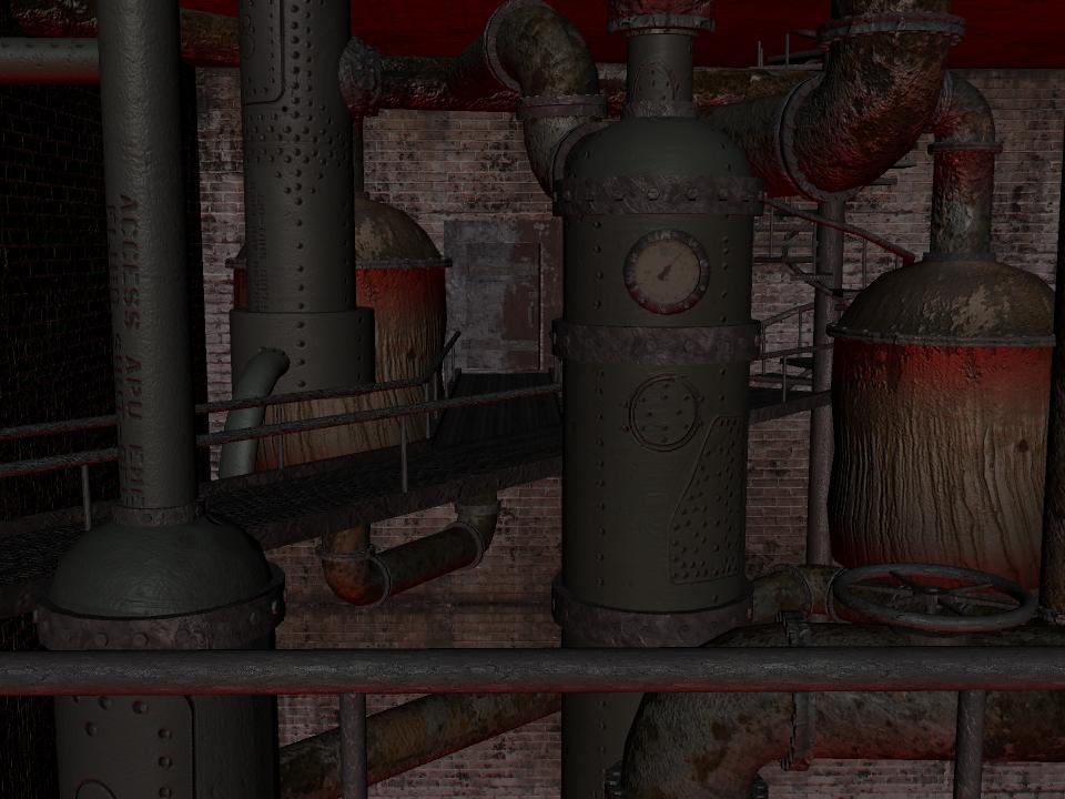Boiler Room Progress 10-2