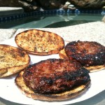 Garlic Bread Burgers