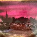 Pink City at Dusk