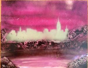 Pink City at Dusk 2