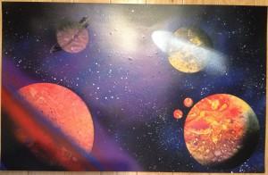 Vibrant Space Scene 1
