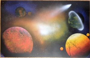 Warm Space Scene 2
