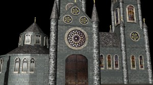 Cathedral Progress - Textures - no bump map