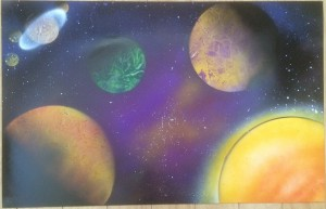 Foreign Solar System Purple