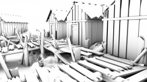 Old Dock Modeling Progress by Marc Zirin