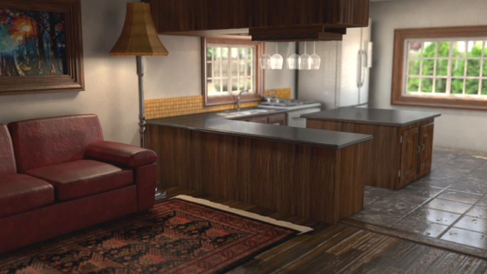 3D Kitchen by Marc Zirin